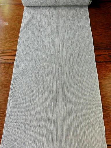 画像1: 綿麻縮 細縞 お仕立上り