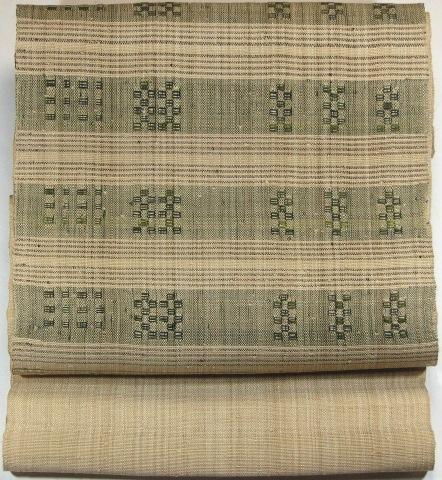 画像1: 芭蕉布の帯