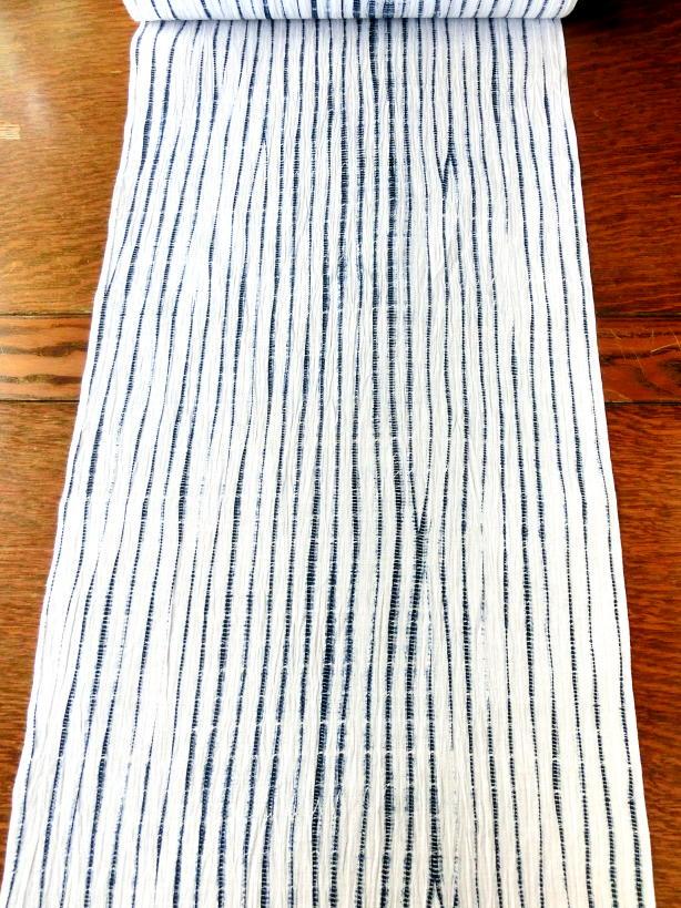 画像1: 立巻絞 白藍 お仕立上り
